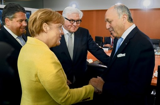 Pariser Gast im Kabinett