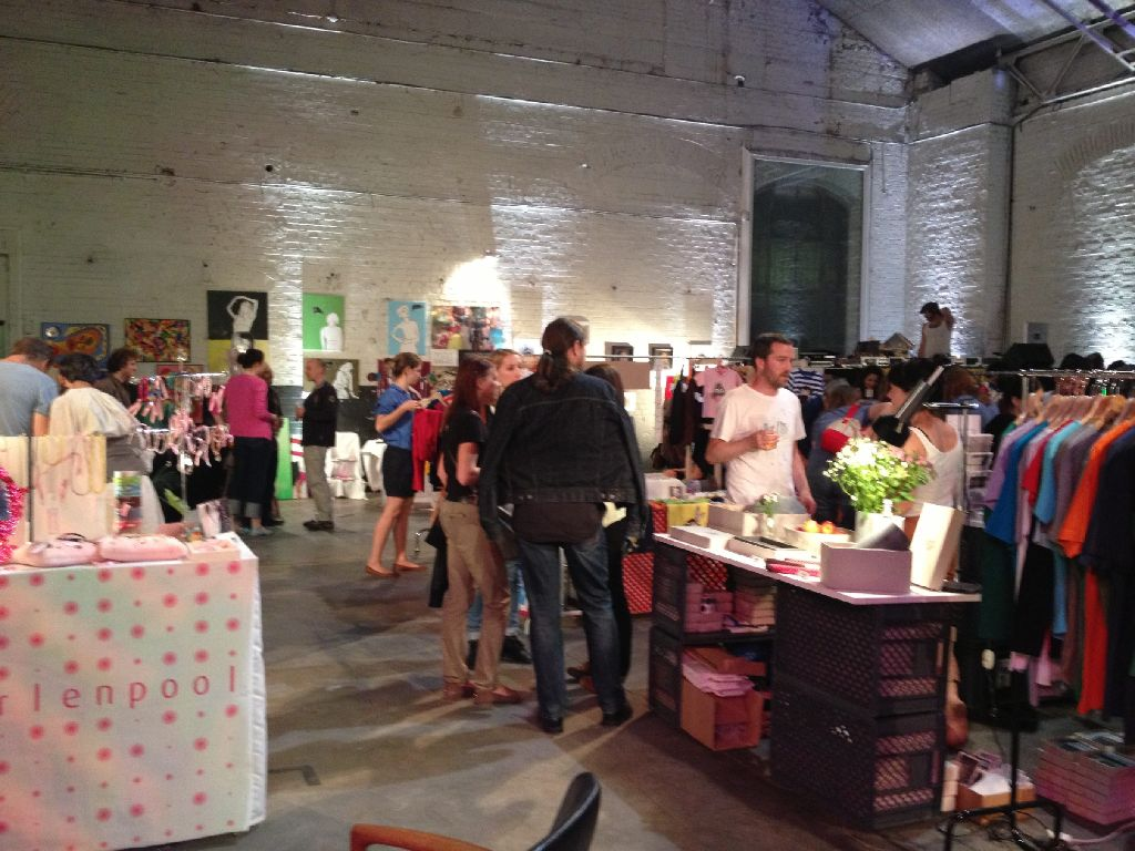 Am Samstag und Sonntag ist wieder das Kunstkaufhaus in den Wagenhallen. Foto: StZ