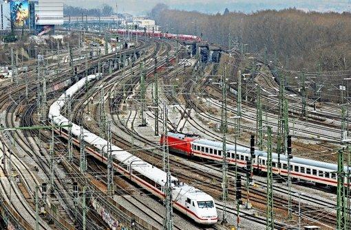 Anstelle der Gleisflächen sollen einmal tausende Wohnungen entstehen. Foto: dpa