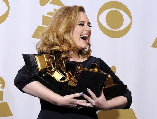 Sängerin Adele räumt bei Grammys ab