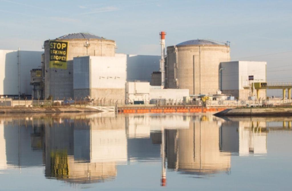 Statistiker haben untersucht, wie sich  eine Abschaltung des Atomkraftwerks in Fessenheim auf die Region auswirken würde. Foto: Greenpeace