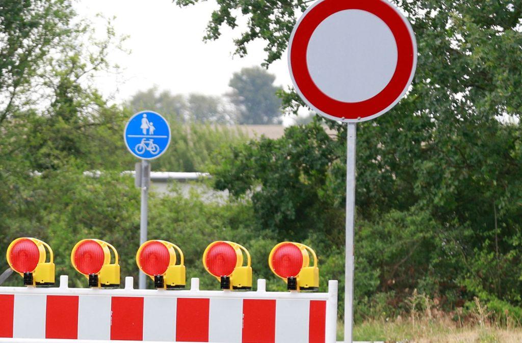 Schon am Montag, 10. September,  folgen die beiden nächsten  Großmaßnahmen: zwei Vollsperrungen. Foto: dpa