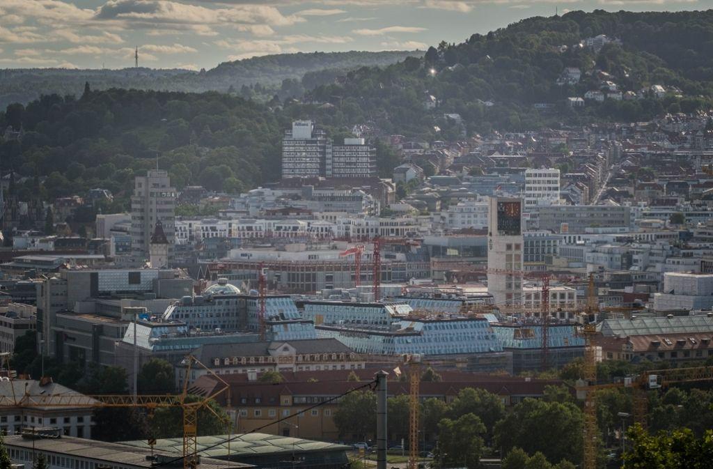 Schön, aber unbezahlbar: Wohnen in der Innenstadt von Stuttgart kann sich nicht jeder leisten. Foto: Lichtgut/Max Kovalenko