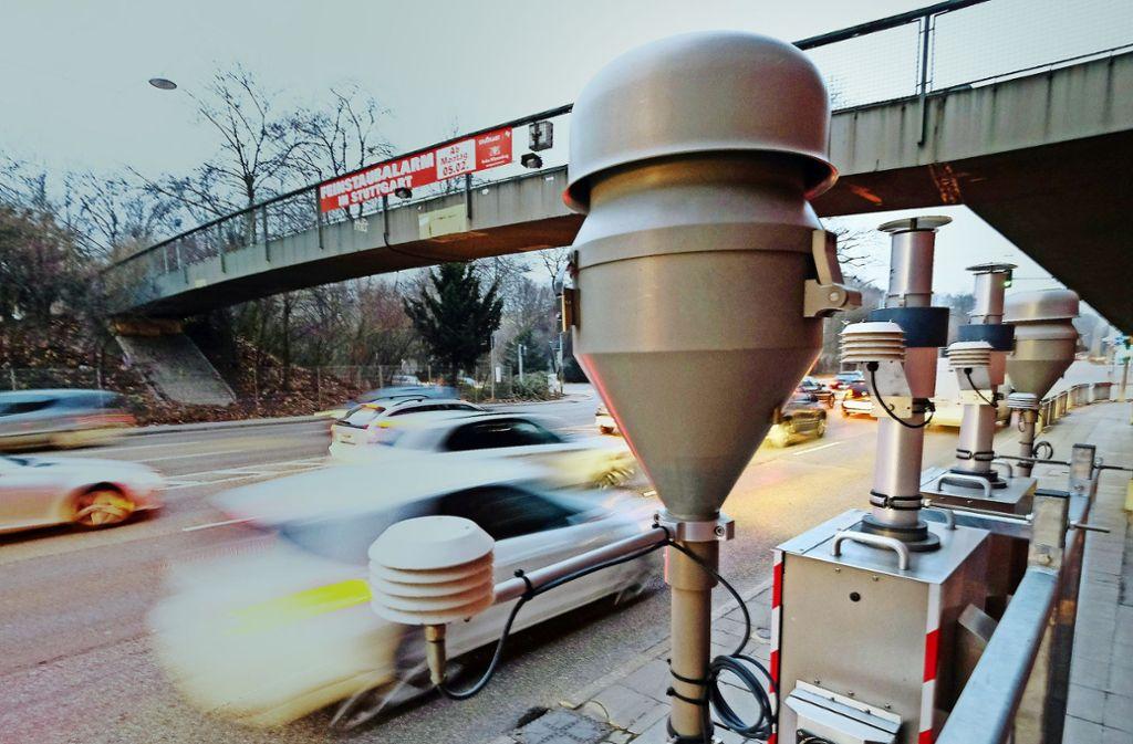 Seit April gibt es keine genauen Daten mehr zur Belastung am Neckartor. (Symbolbild) Foto: dpa