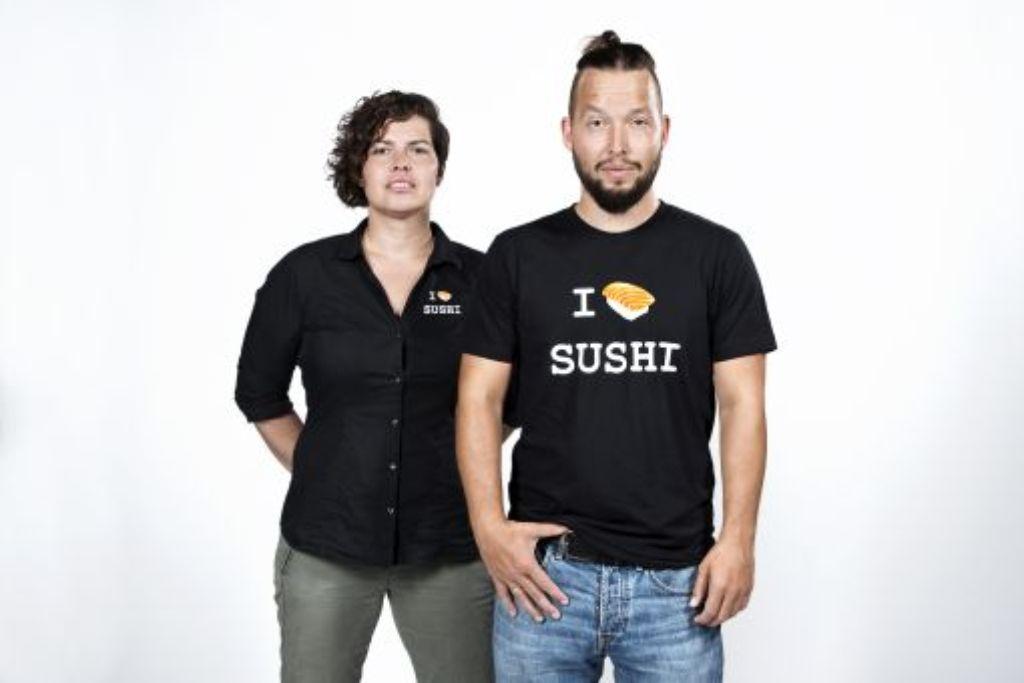Karin und Stoff Büttner lieben Sushi. Foto: I love Sushi