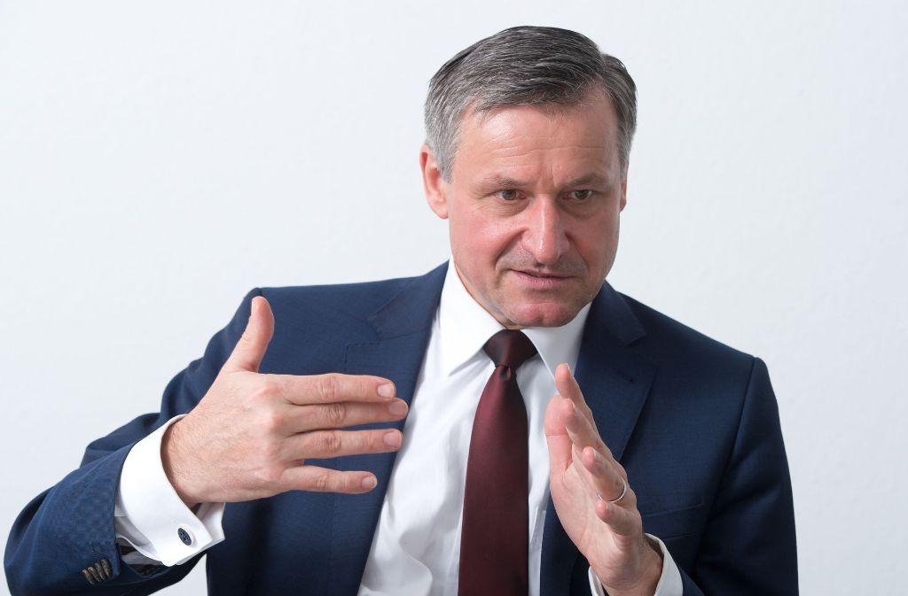Hans-Ulrich Rülke, der Vorsitzende der FDP Fraktion im Landtag von Baden-Württemberg. Foto: dpa