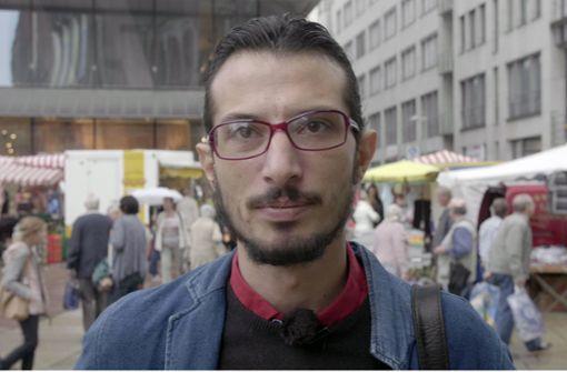 """Syrischer Künstler: """"Ich fühle mich wohl in Chemnitz"""""""
