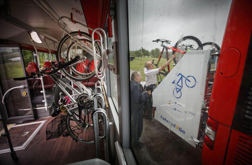 Das Projekt Fahrrad 2 go soll dazu beitragen, dass mehr Menschen auf umweltfreundliche Fortbewegung setzen. Foto: Gottfried Stoppel/Archiv