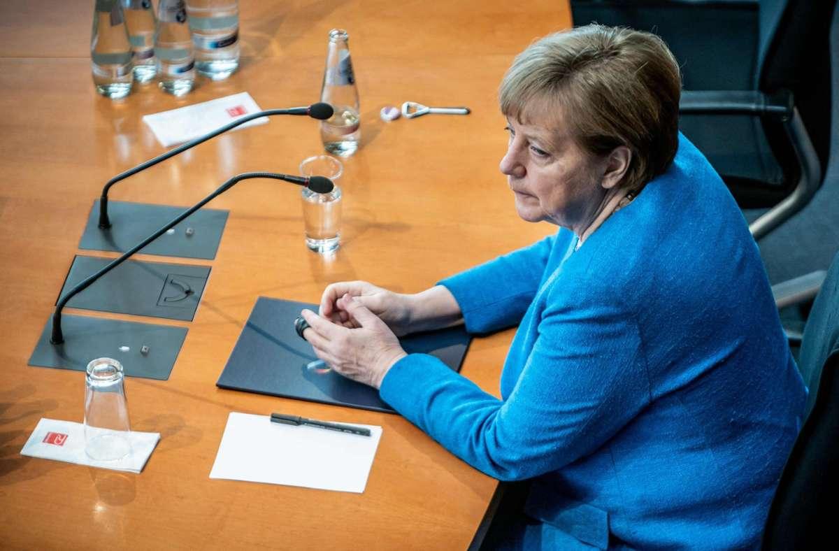 Bundeskanzlerin Angela Merkel Foto: AFP/MICHAEL KAPPELER