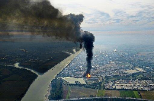 Laut Feuerwehr keine Gefahr für Bürger