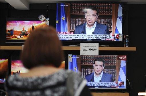 Tsipras hält an Referendum fest