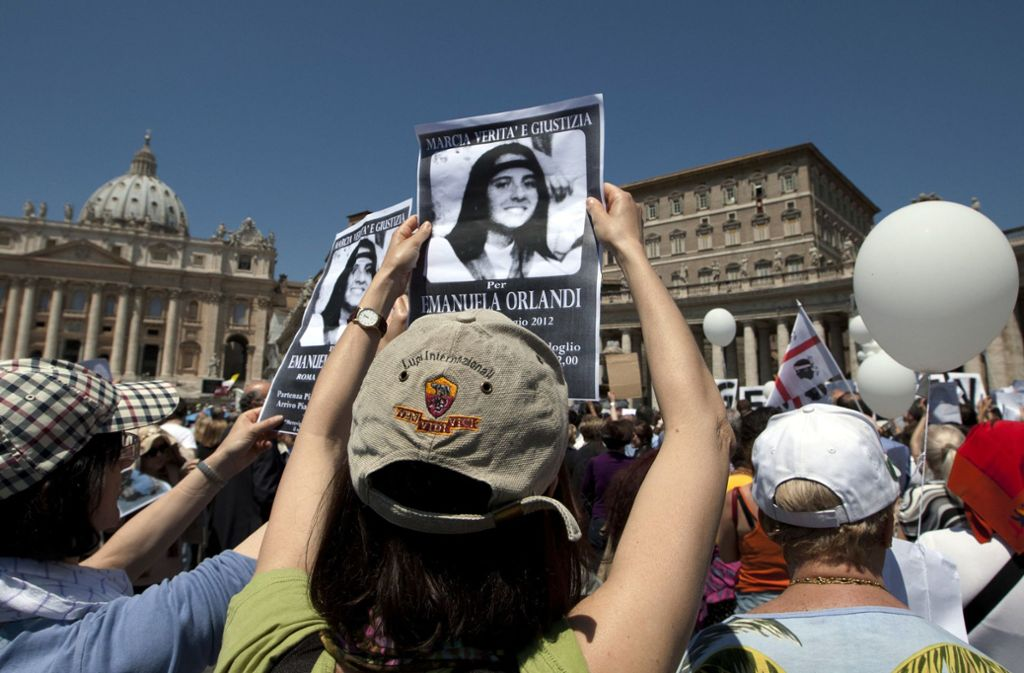 Das letzte Foto der vor 36 Jahren verschwundenen Emanuela Orlandi kennt in Italien jeder. Foto: dpa