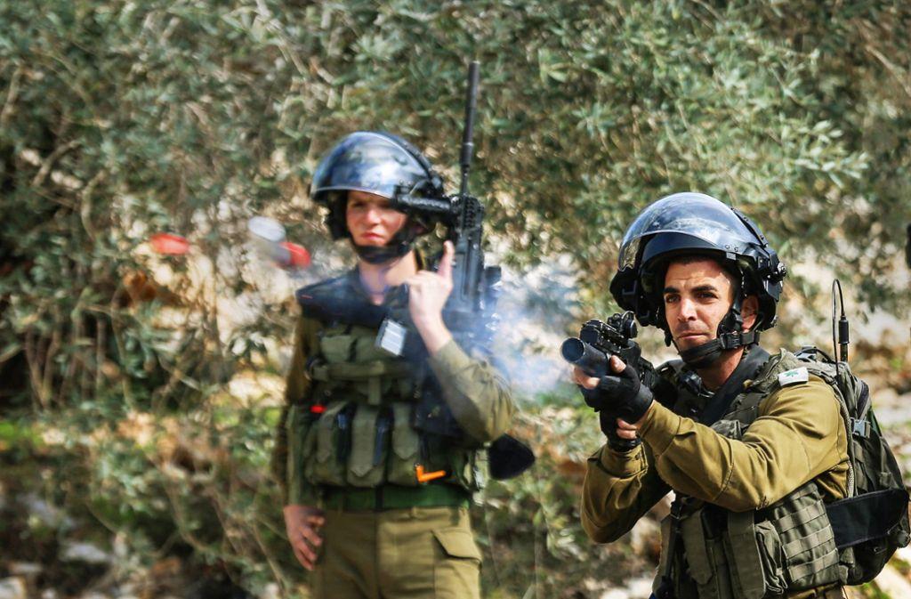 Aktuell hat Israel seine Militärpräsenz im Jordantal verstärkt. Foto: dpa/Shadi Jararah