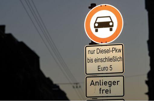 Weitere Diesel-Fahrverbote in Stuttgart unvermeidbar