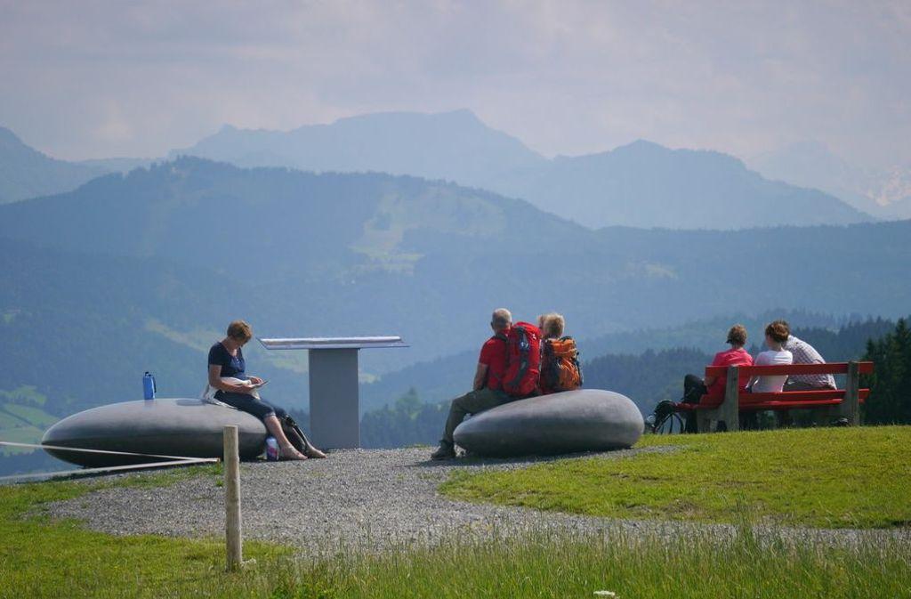 Erholung und Wandern im Allgäu Foto: Scheidegg-Tourismus
