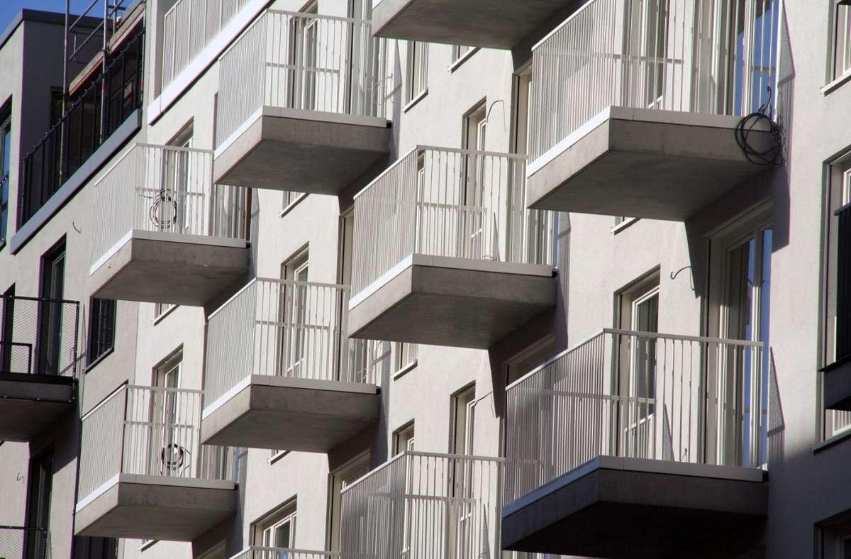 Die Zahl der Neubauwohnungen in Baden-Württemberg  ist stark gestiegen (Symbolfoto)). Foto: dpa/Lothar Ferstl