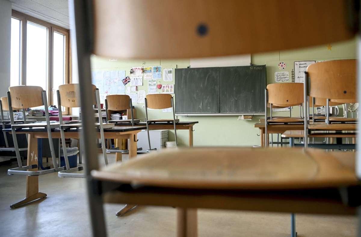 Wegen weiter hoher Corona-Infektionszahlen wird der Lockdown an Schulen und Kitas bis Ende Januar verlängert. Foto: dpa/Britta Pedersen
