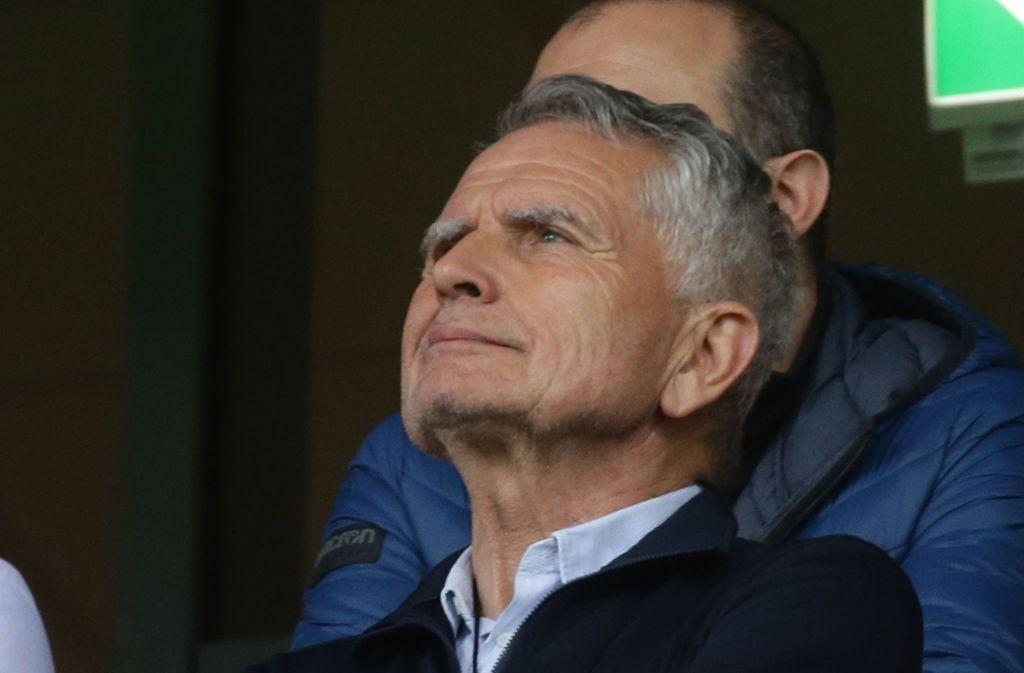 Wolfgang Dietrich, Präsident des VfB Stuttgart Foto: Pressefoto Baumann