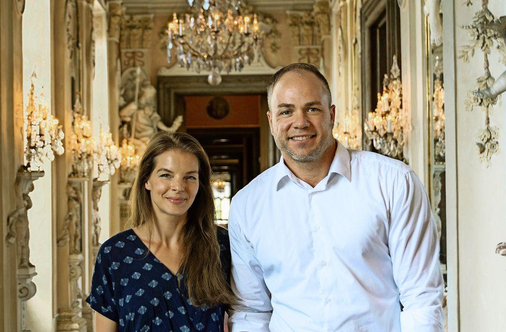 Unsere Frau in Ludwigsburg: Yvonne Catterfeld ist eine  von drei neuen Botschafterinnen, die der Schlossverwalter Stephan Hurst ernannt hat. Foto: Staatliche Schlösser und Gärten