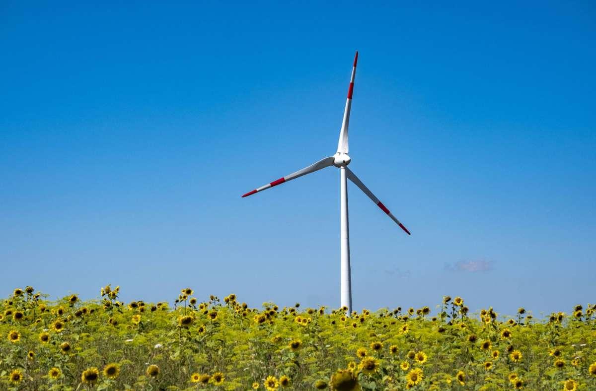 In den vergangenen Jahren sind im Südwesten wenig neue Windkraftanlagen in Betrieb genommen worden. Das Ministerium führt dies auf das bundesweite Ausschreibungsmodell zurück. Foto: imago/Norbert Neetz