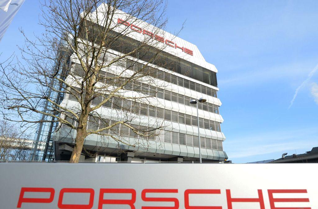 Der Porsche Stammsitz in Stuttgart-Zuffenhausen. Foto: dpa