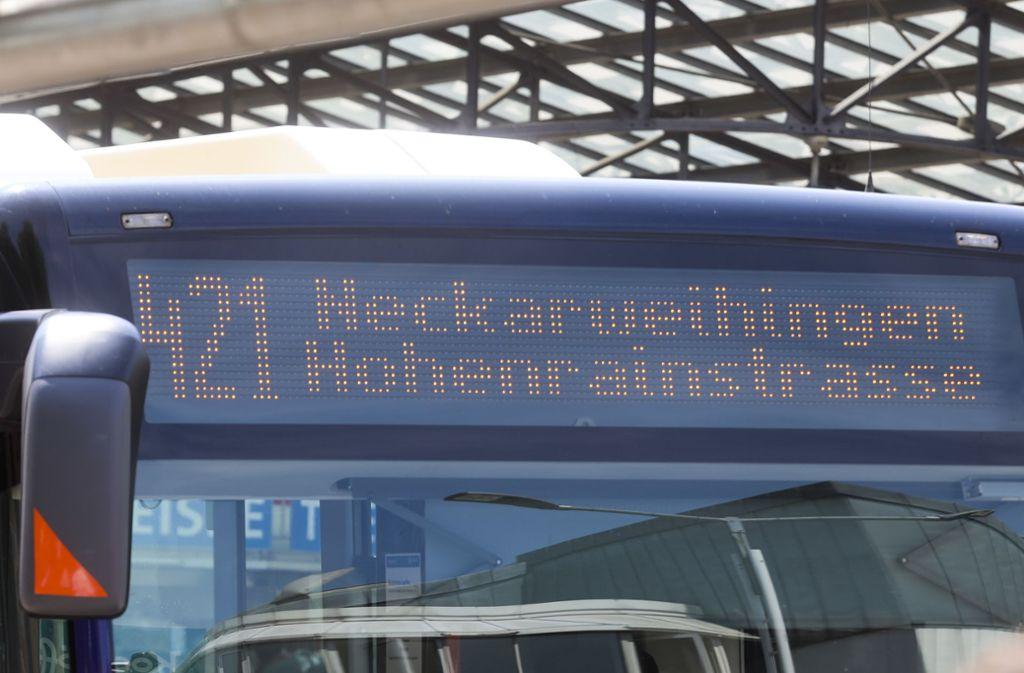 Um die neue Streckenführung der Linie 421 wurde lange gestritten. Wie sich jetzt zeigte,  umsonst. Foto: factum/Weise/Simon Granville/factum