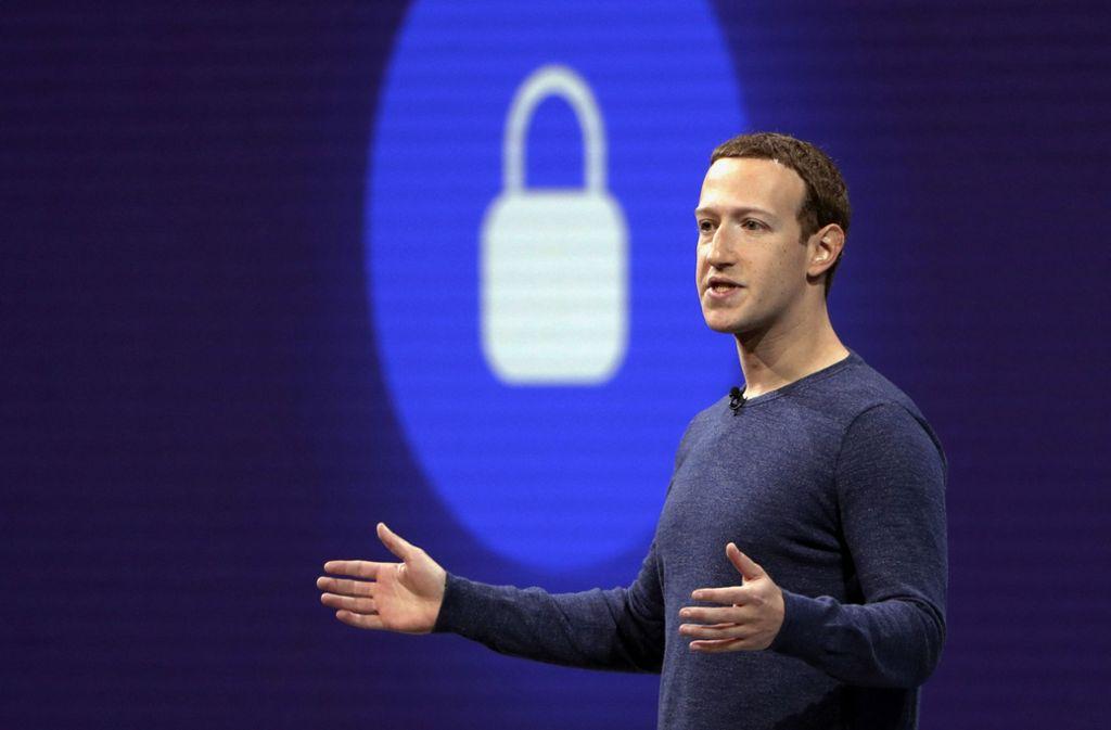 Facebook-Gründer Mark Zuckerberg Foto: AP