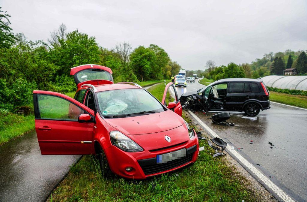 Bei einem Unfall in Reichenbach an der Fils wurde ein 71-Jähriger schwer verletzt. Foto: SDMG
