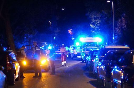 Schüsse bei Polizeieinsatz