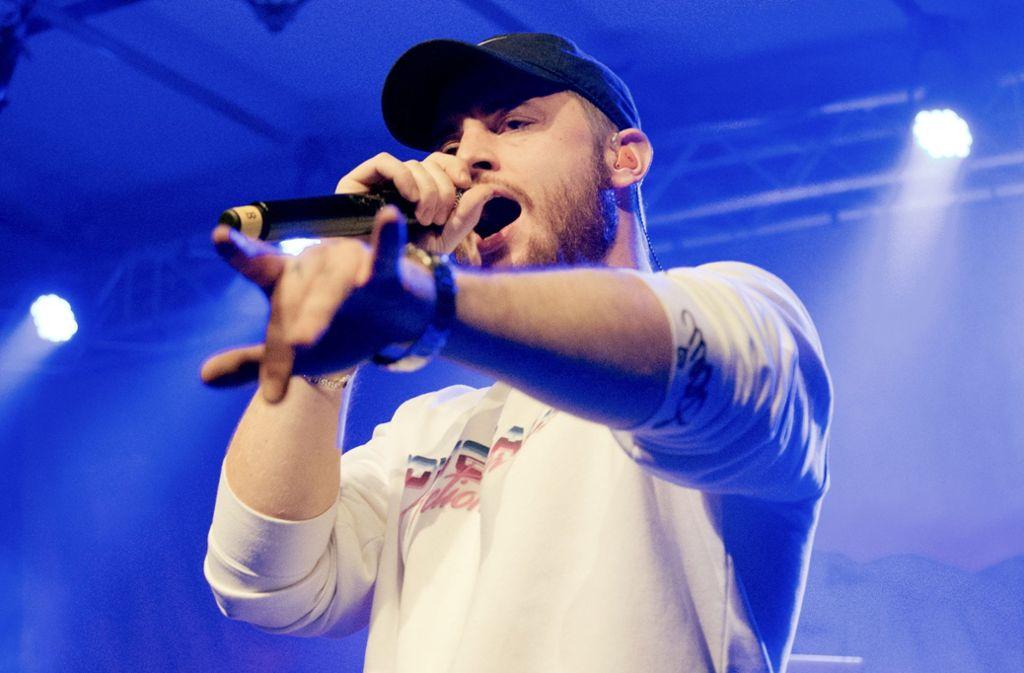Wie viele Echo-Preise wird der Bietigheimer Rapper Bausa abräumen? Foto: Lichtgut - Oliver Willikonsky