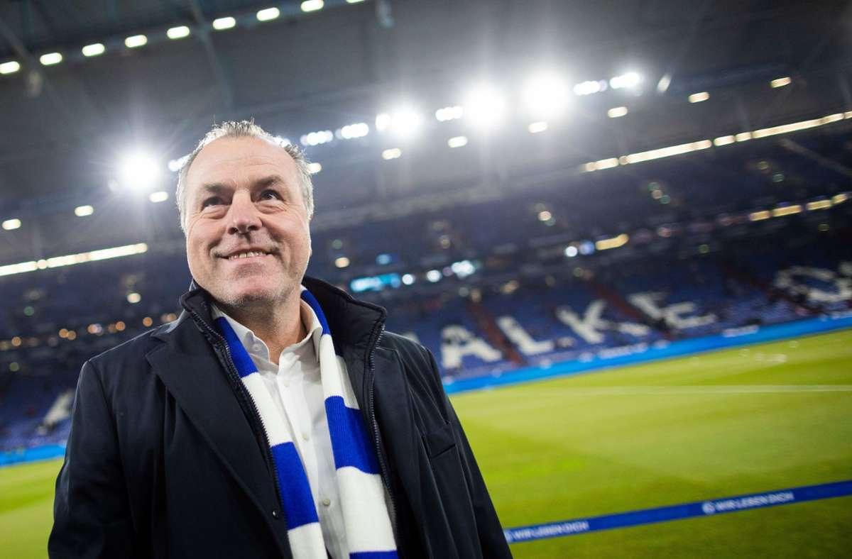 Erstrahlt derzeit nicht im glanzvollen Licht: Schalkes Aufsichtsratschef Clemens Tönnies. Foto: dpa/Rolf Vennenbernd