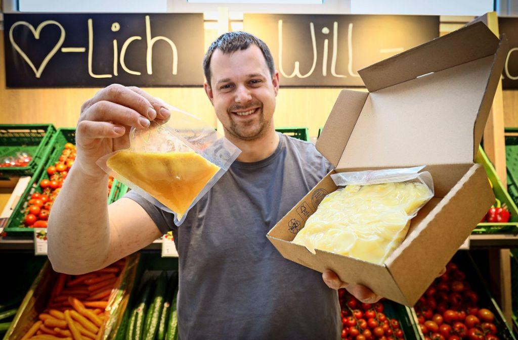 """Tobias Fauser ist fasziniert von der Kartoffel – der """"kommunikativsten Feldfrucht"""", wie er findet. Foto: factum/Simon Granville"""