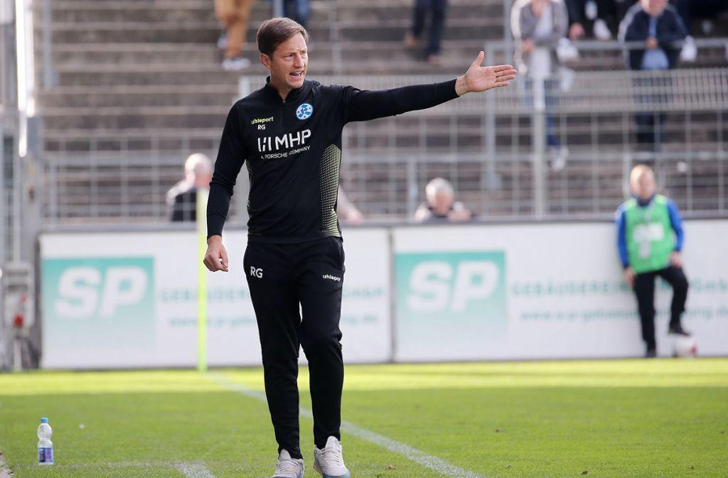 Ramon Gehrmann hofft im Derby gegen den VfB II auf drei Punkte. Foto: Pressefoto Baumann/Julia Rahn