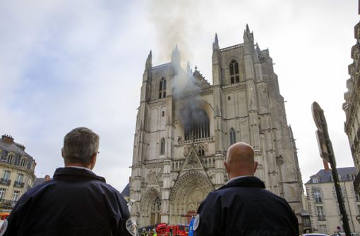 Verdächtiger in Nantes gesteht Brandstiftung