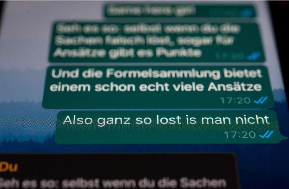 """""""Lost"""" wurde zum """"Jugendwort des Jahres"""" gewählt. Foto: dpa/Sebastian Gollnow"""