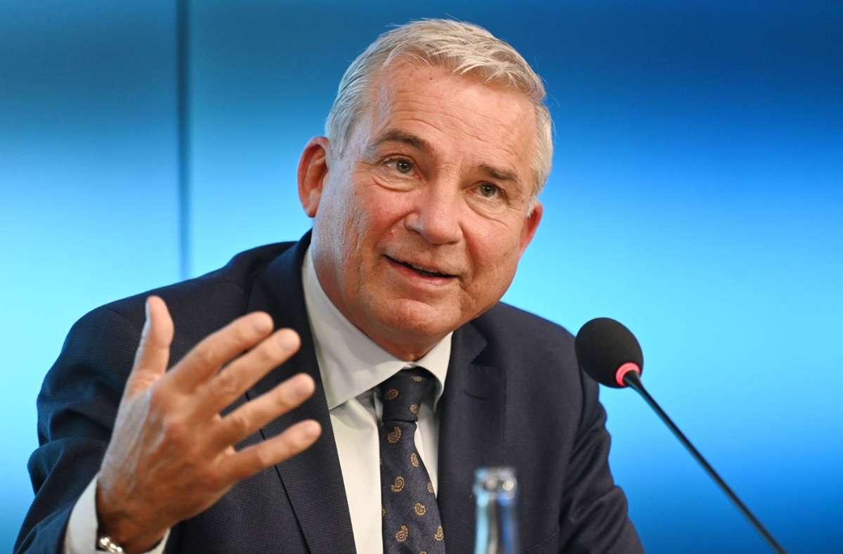 Thomas Strobl, der Vorsitzende der Südwest-CDU, sieht in Armin Laschet den geeigneten Kanzlerkandidaten der Union. Foto: dpa/Marijan Murat
