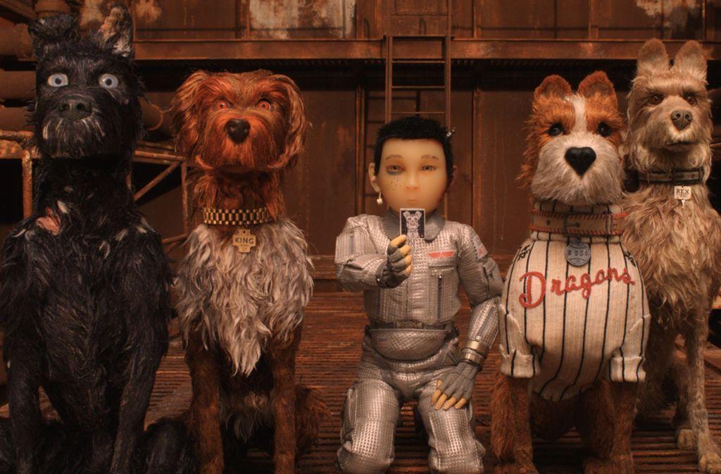 """In Wes Andersons """"Isle of Dogs"""" müssen ein Junge und seine Hundekumpel große Gefahren überwinden. Foto: Fox"""