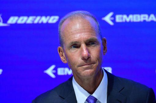 Boeing-Chef stürzt über 737-Max-Debakel