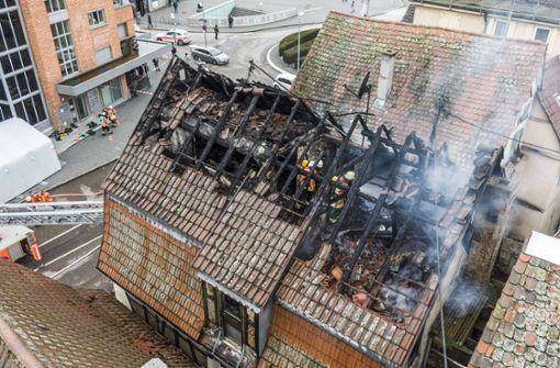 Wohnhaus bei Feuer schwer beschädigt