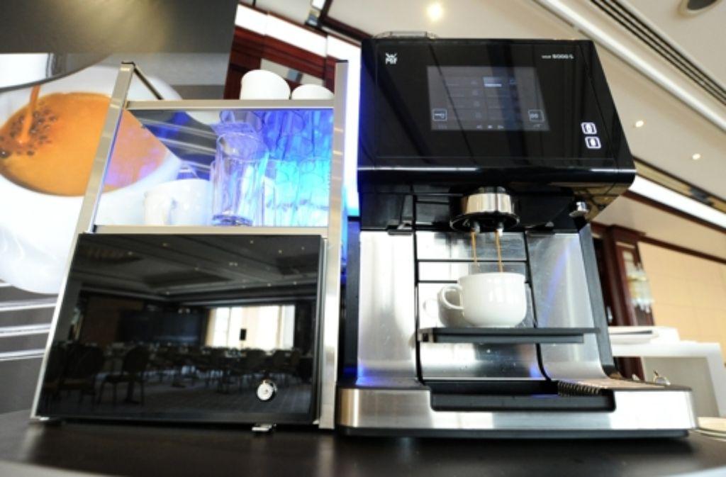 Bisher vertreibt der Küchengeräte-Hersteller WMF zwar Kaffeemaschinen in Indien, produziert dort aber nicht. Foto: dpa