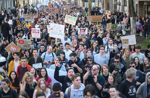Tausende demonstrieren im Südwesten gegen Urheberrechtsreform