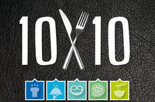Die 100 besten Restaurants der Stadt