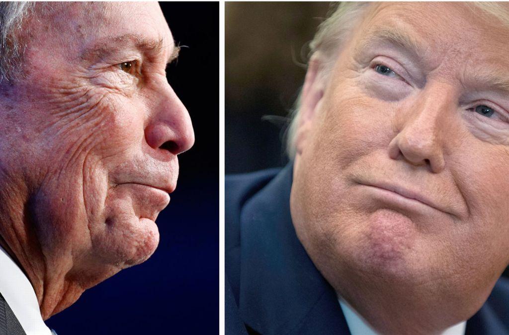 Michael Bloomberg kann es finanziell mit Donald Trump locker aufnehmen. Foto: dpa/Semansky-Vucci