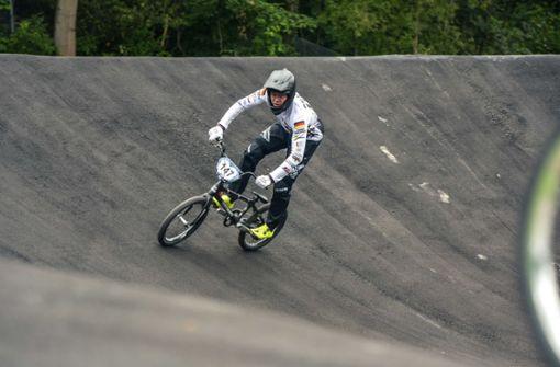 Neue BMX-Supercross-Strecke in Stuttgart