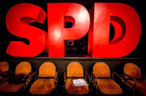 Leere Kassen bei den Sozialdemokraten