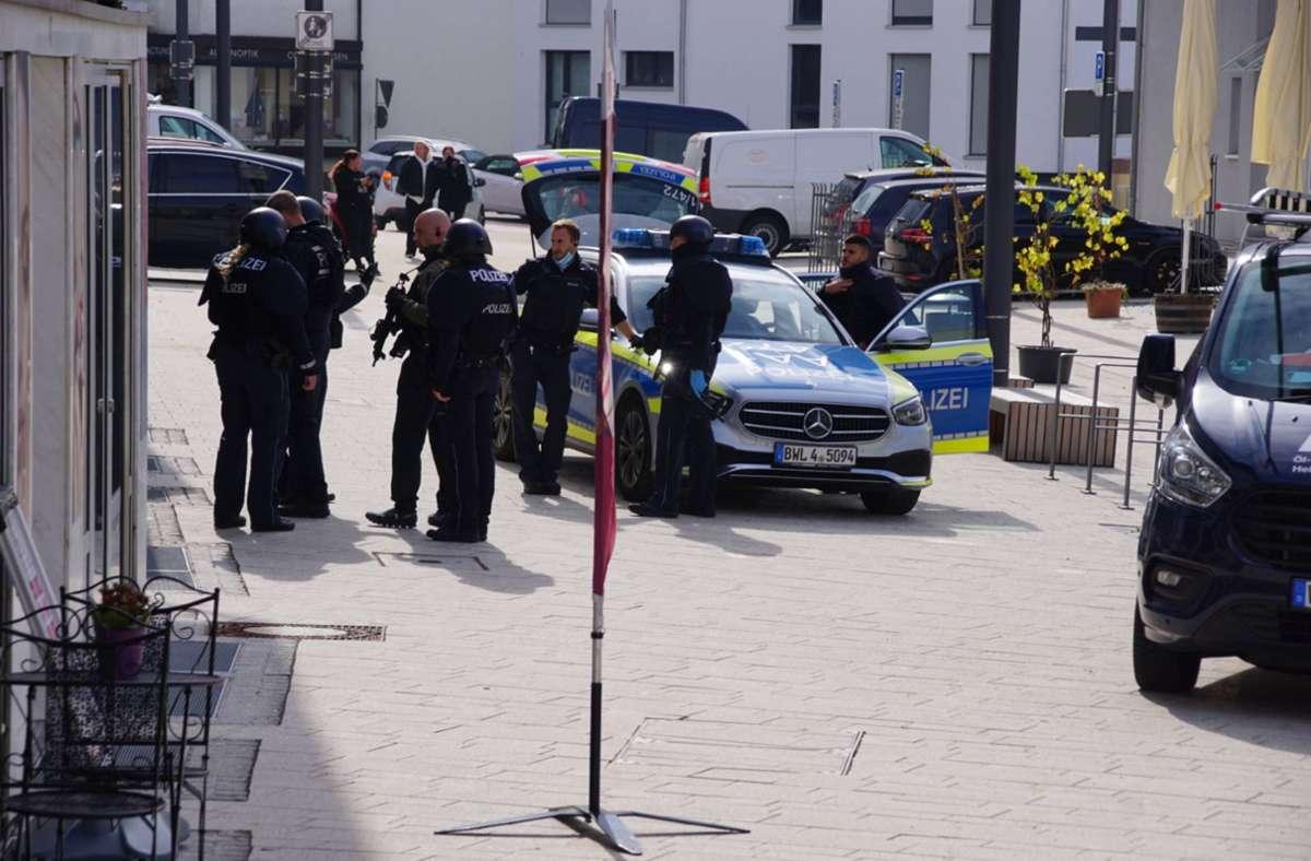 In Winnenden ist es zu einem Großeinsatz der Polizei gekommen. Foto: 7aktuell.de/Andreas Werner/7aktuell.de   Andreas Werner