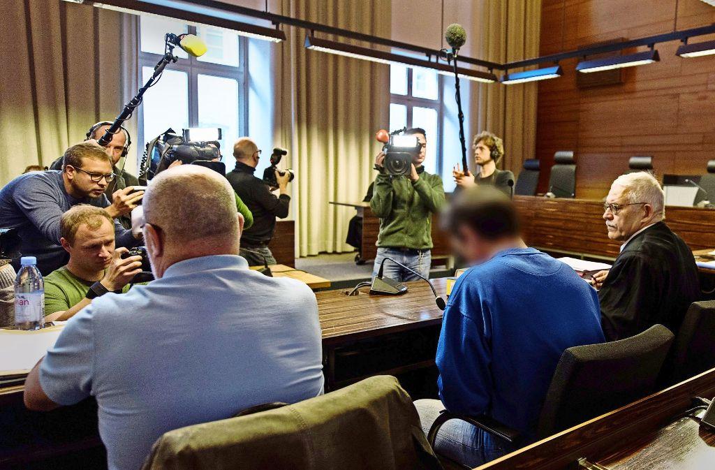 Das Interesse der Medien beim Prozessauftakt war groß. Foto: dpa