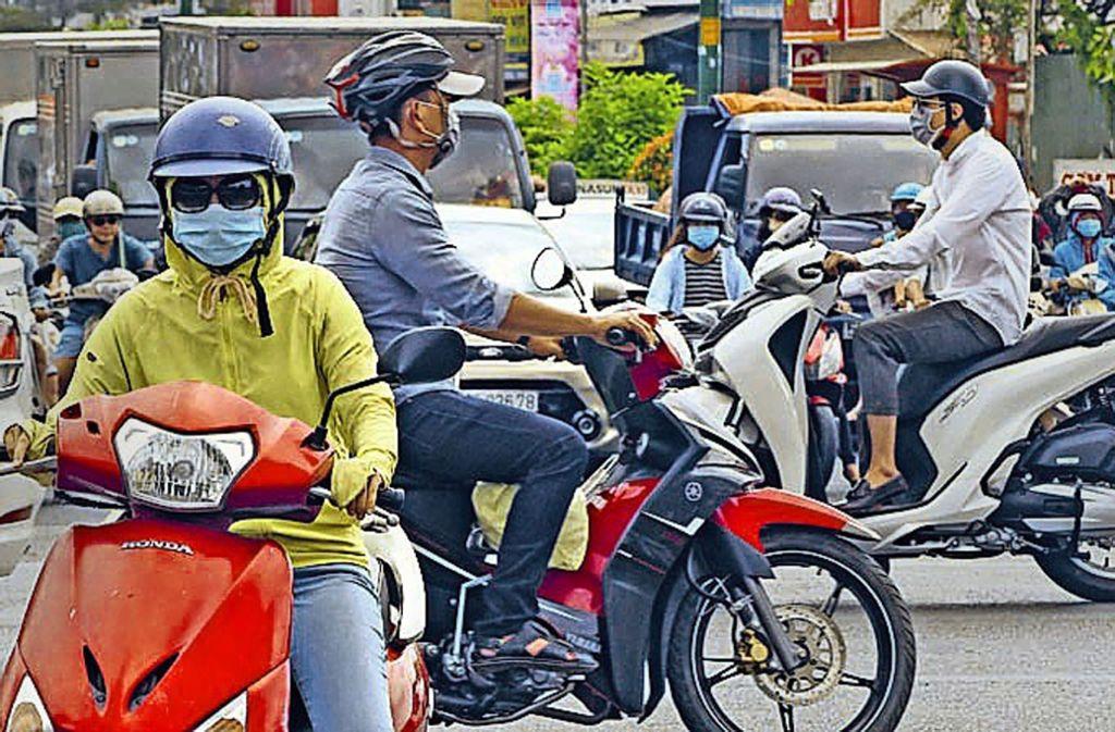Auch Fotos aus dem Alltag in Vietnam hat Ulrich Klieber mitgebracht. Foto: Ulrich Klieber