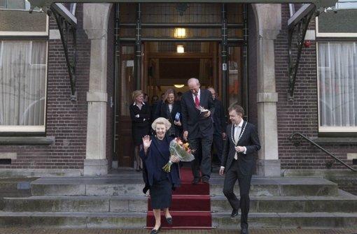 Ex-Königin Beatrix zieht in Alterssitz Schloss Drakensteyn um