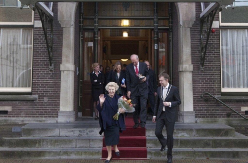 Prinzessin Beatrix (76) hat ihren Alterssitz Schloss Drakensteyn bezogen. Foto: dpa